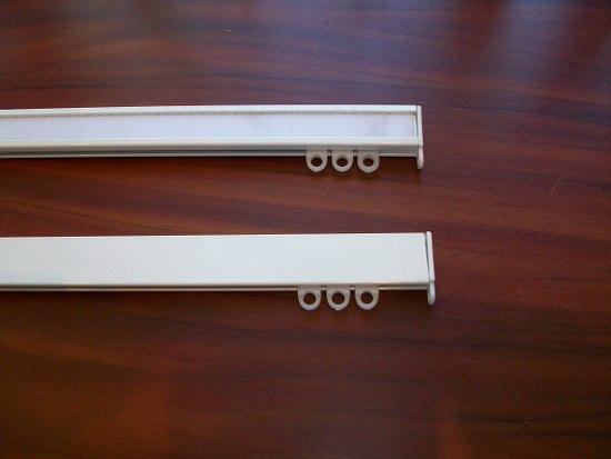Алюминиевый профильный карниз для штор купить